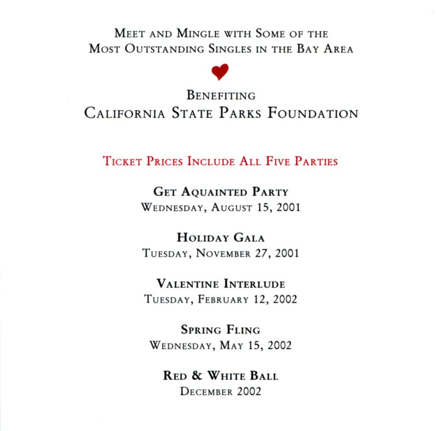 Red and White Ball invitation-01-02-inside benefitting California State Parks Foundation