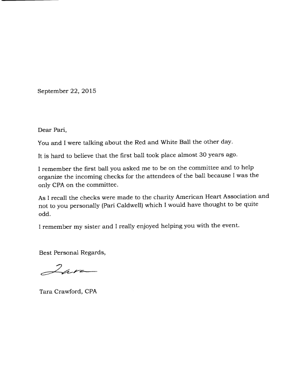 Red and White Ball CPA letter of support